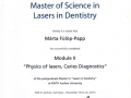 Physics of Lasers, Caries Diagnostics