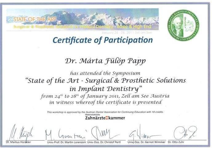 Surgical & Prosthetic Solutions in Implant Dentistry