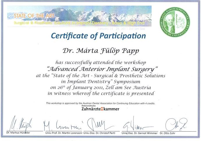 Advanced Anterior Implant Surgery